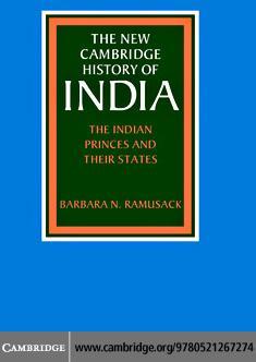 NCHI: Indian Princes States III.6 EB9780511162619