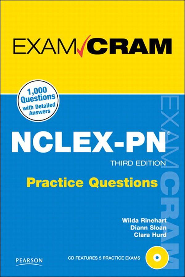 NCLEX-PN Practice Questions Exam Cram, 3/e EB9780132689571