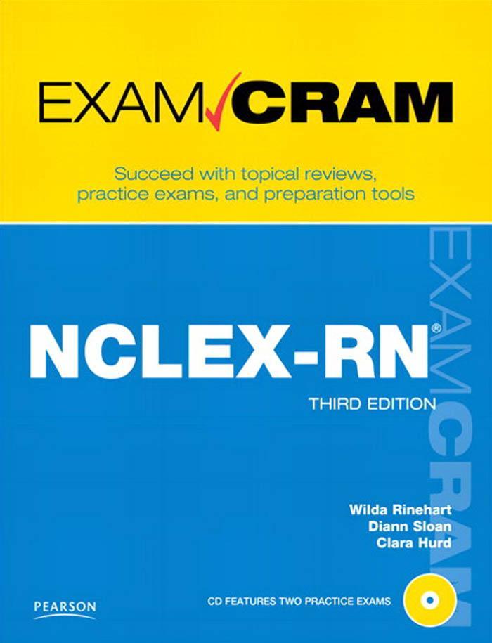 NCLEX-RN Exam Cram, 3/e EB9780768697353