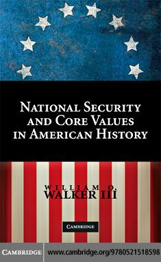 National Security and Core Values in American History EB9780511530777