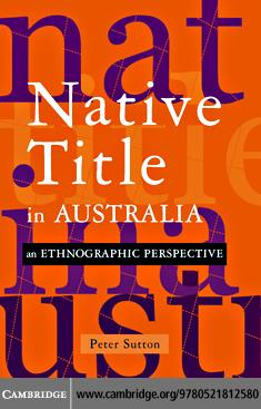 Native Title in Australia EB9780511162664