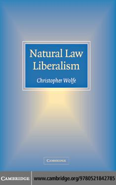 Natural Law Liberalism EB9780511239809