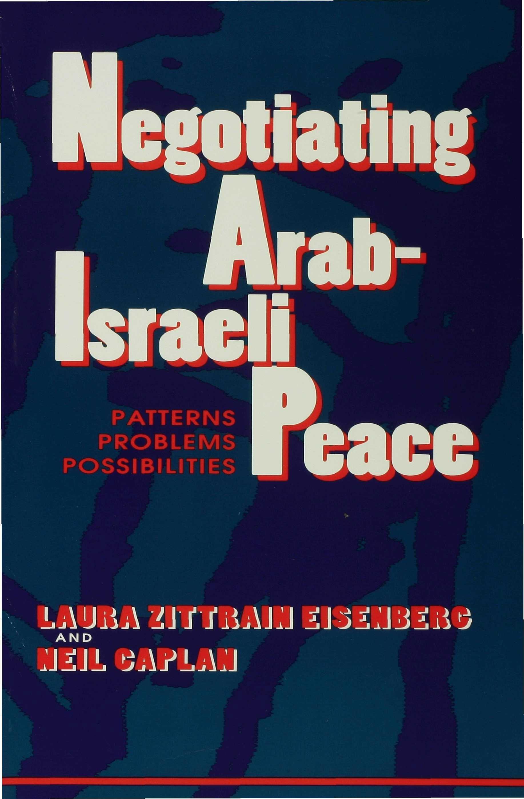 Negotiating Arab-Israeli Peace EB9780253113054