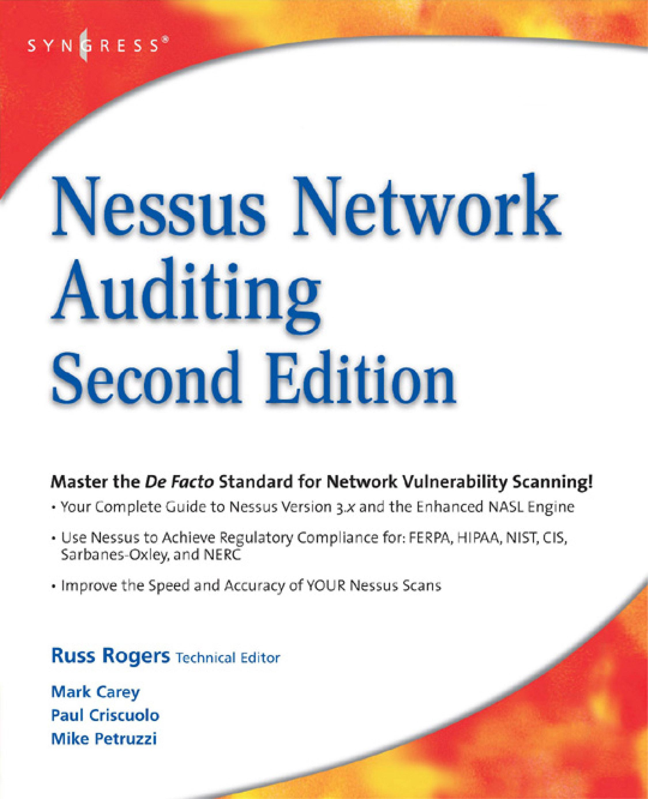 Nessus Network Auditing EB9780080558653