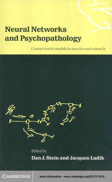 Neural Networks and Psychopathology EB9780511038440