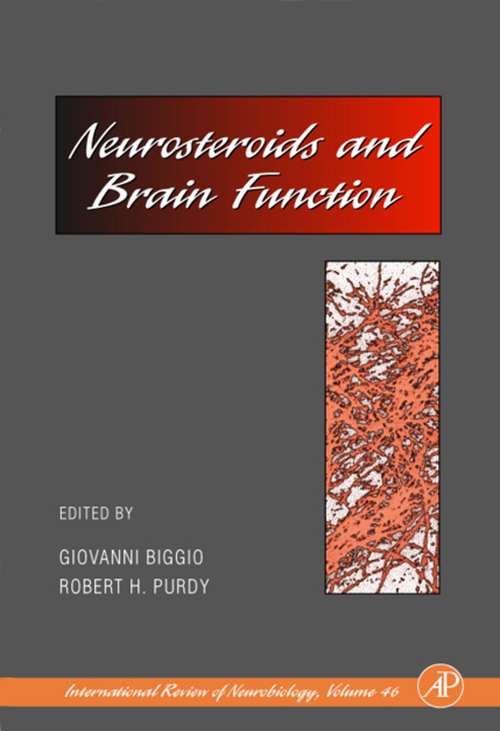 Neurosteroids and Brain Function EB9780080544236