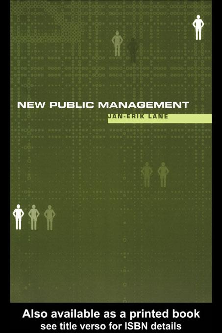 New Public Management EB9780203775561