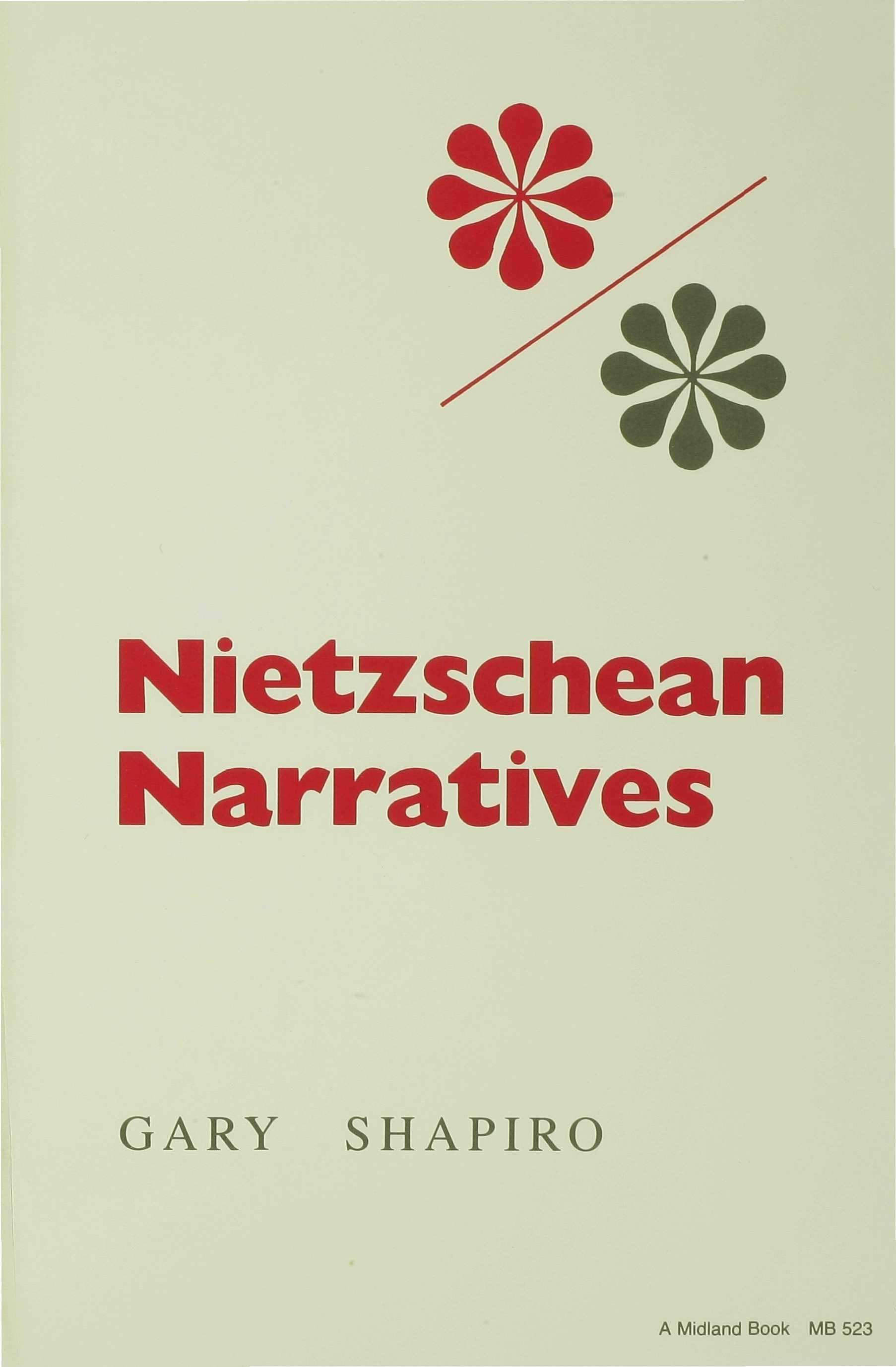 Nietzschean Narratives EB9780253114471