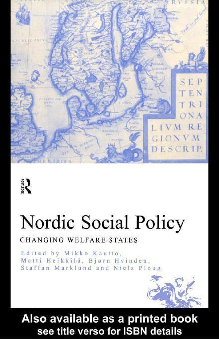 Nordic Social Policy EB9780203208489