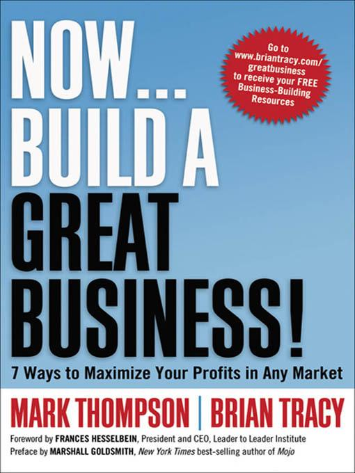 Now, Build a Great Business! EB9780814416983
