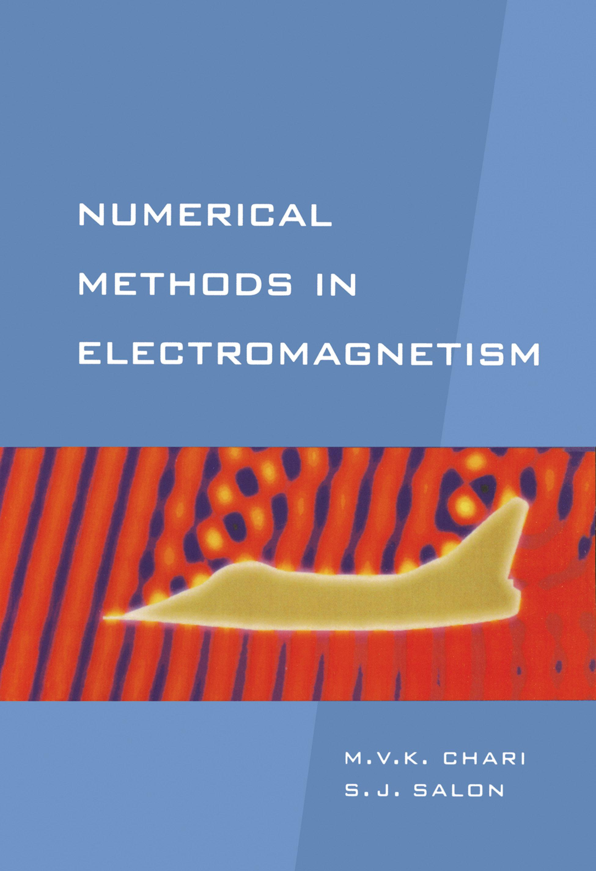 Mon premier blog page 6 numerical methods in electromagnetism sheppard salon and m v k chari fandeluxe Choice Image