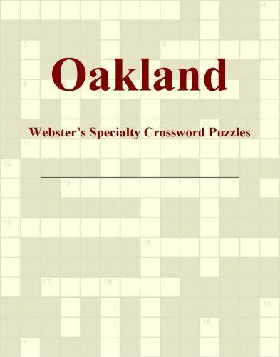 Oakland - Webster's Specialty Crossword Puzzles EB9780546429336