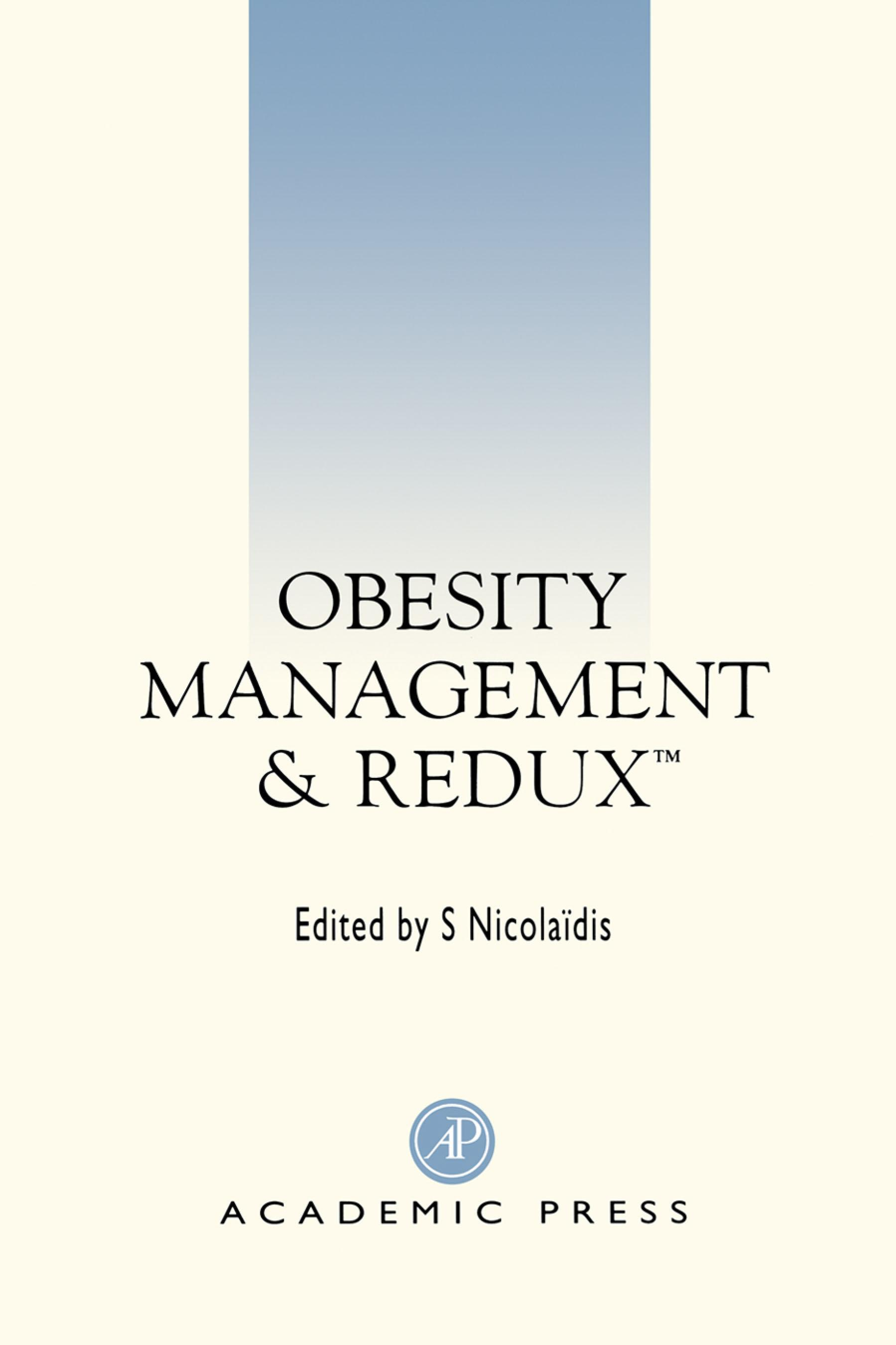 Obesity Management and Redux EB9780080537917
