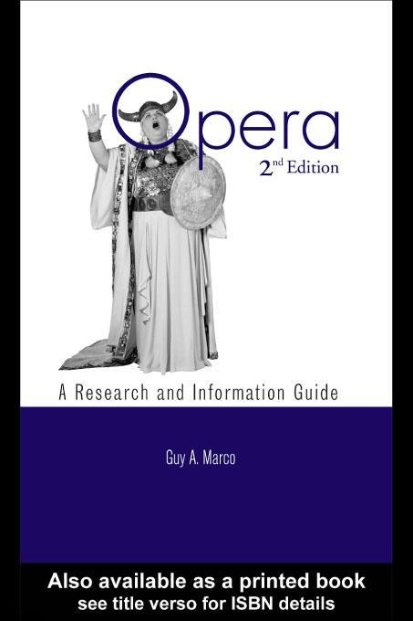 Opera EB9780203901243