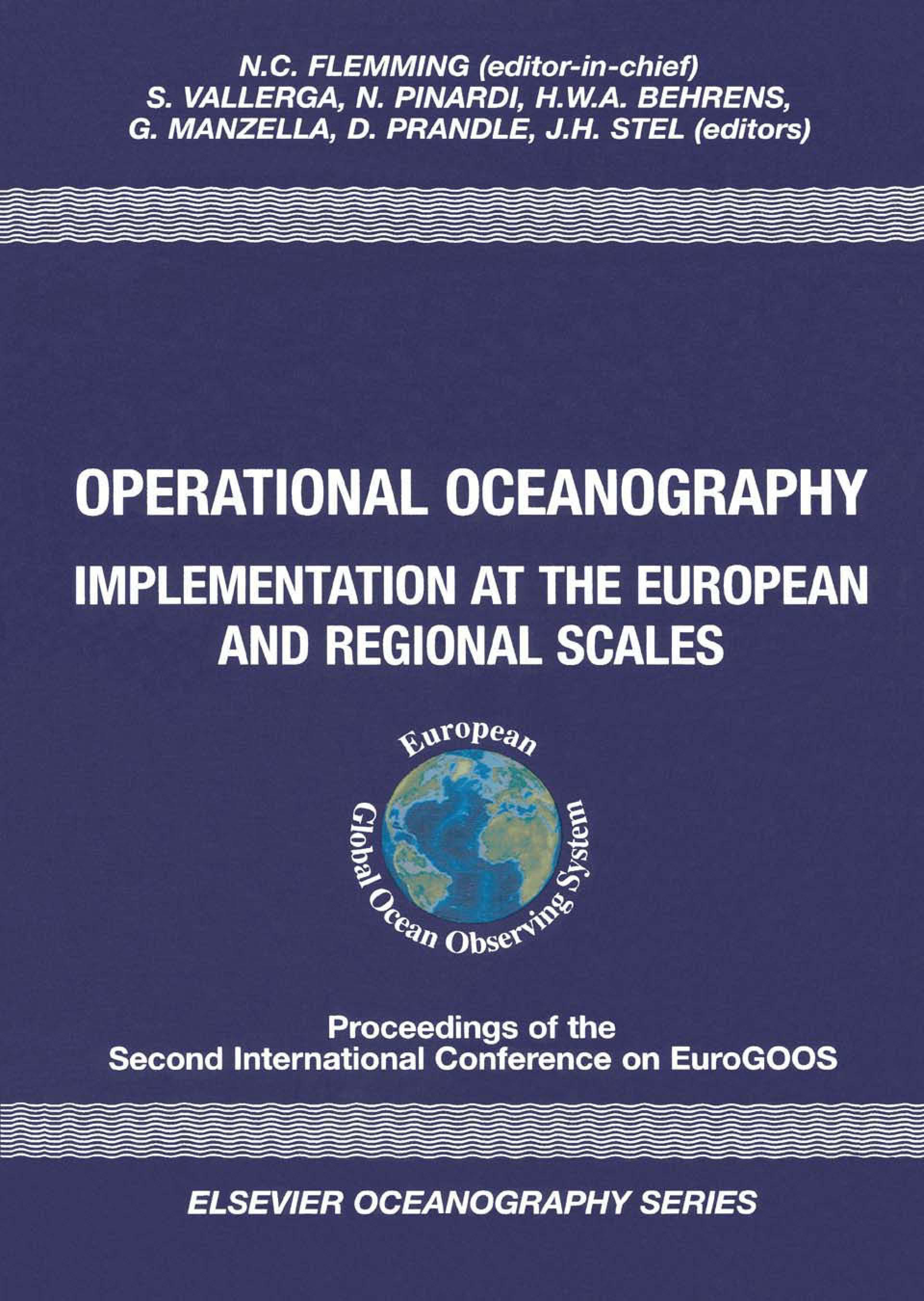 Operational Oceanography: Implementation at the European and Regional Scales