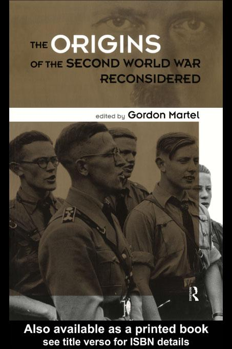 Origins of the Second World War Reconsidered EB9780203162330