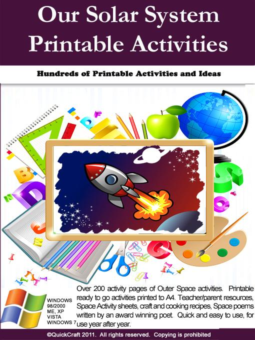 Our Solar System Printable Activities EB9780980605273