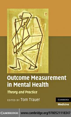 Outcome Measurement in Mental Health EB9780511771163