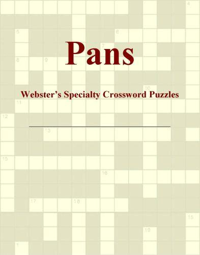 Pans - Webster's Specialty Crossword Puzzles EB9780546429848