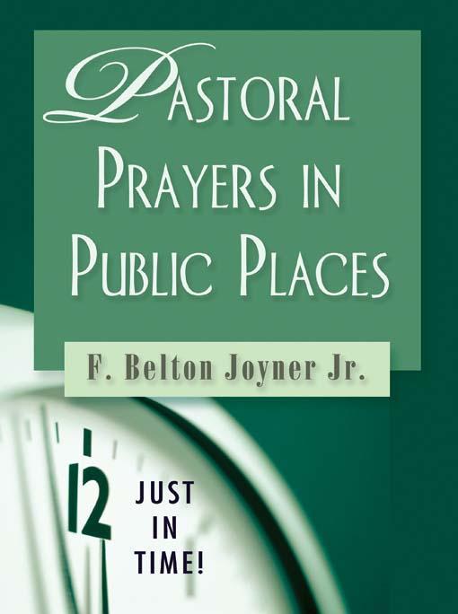 Pastoral Prayers in Public Places EB9780687651504
