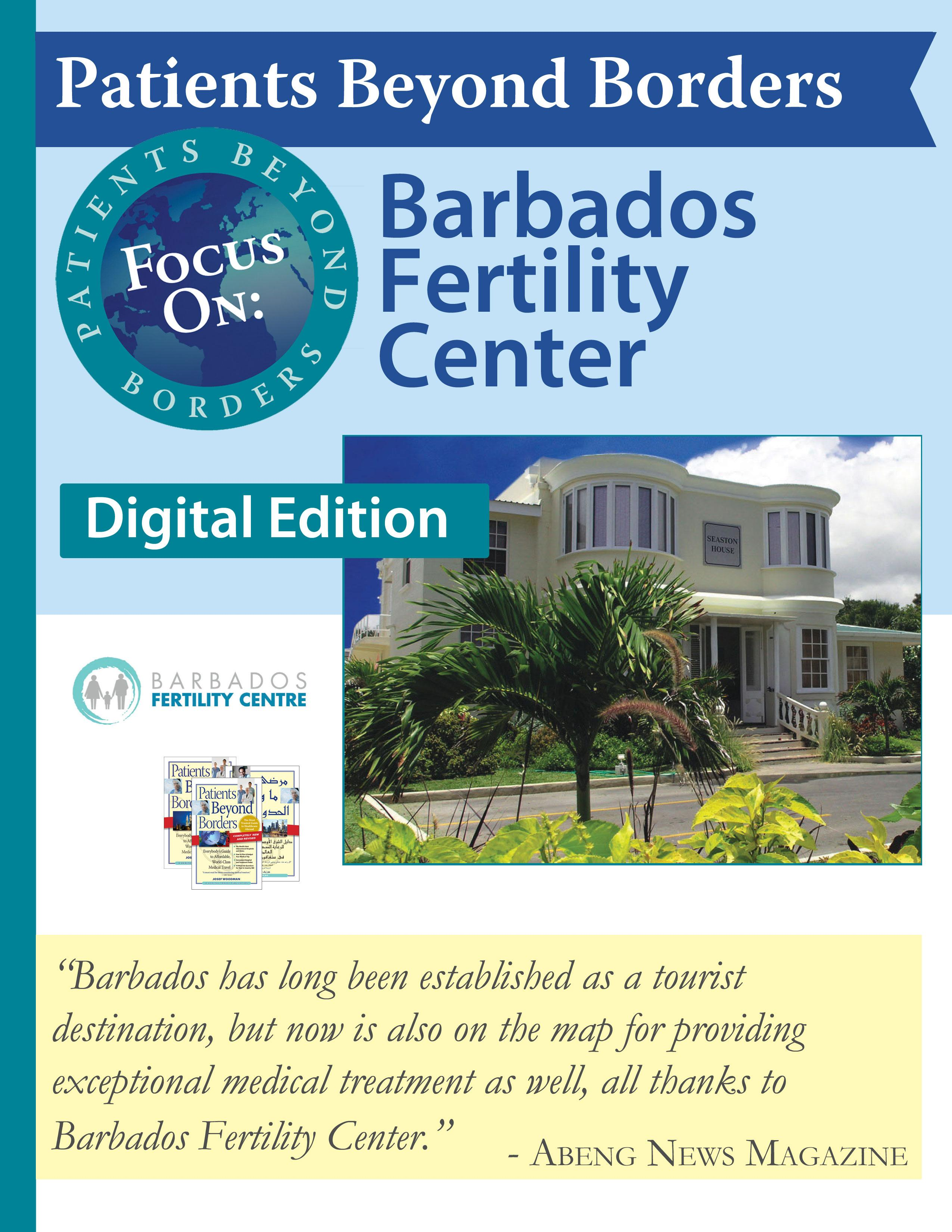 Patients Beyond Borders: Barbabados Fertility Center