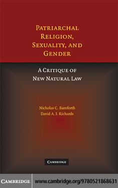 Patriarchal Religion, Sexuality, and Gender EB9780511460463