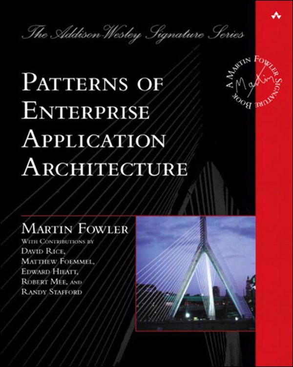 Patterns of Enterprise Application Architecture EB9780133065213