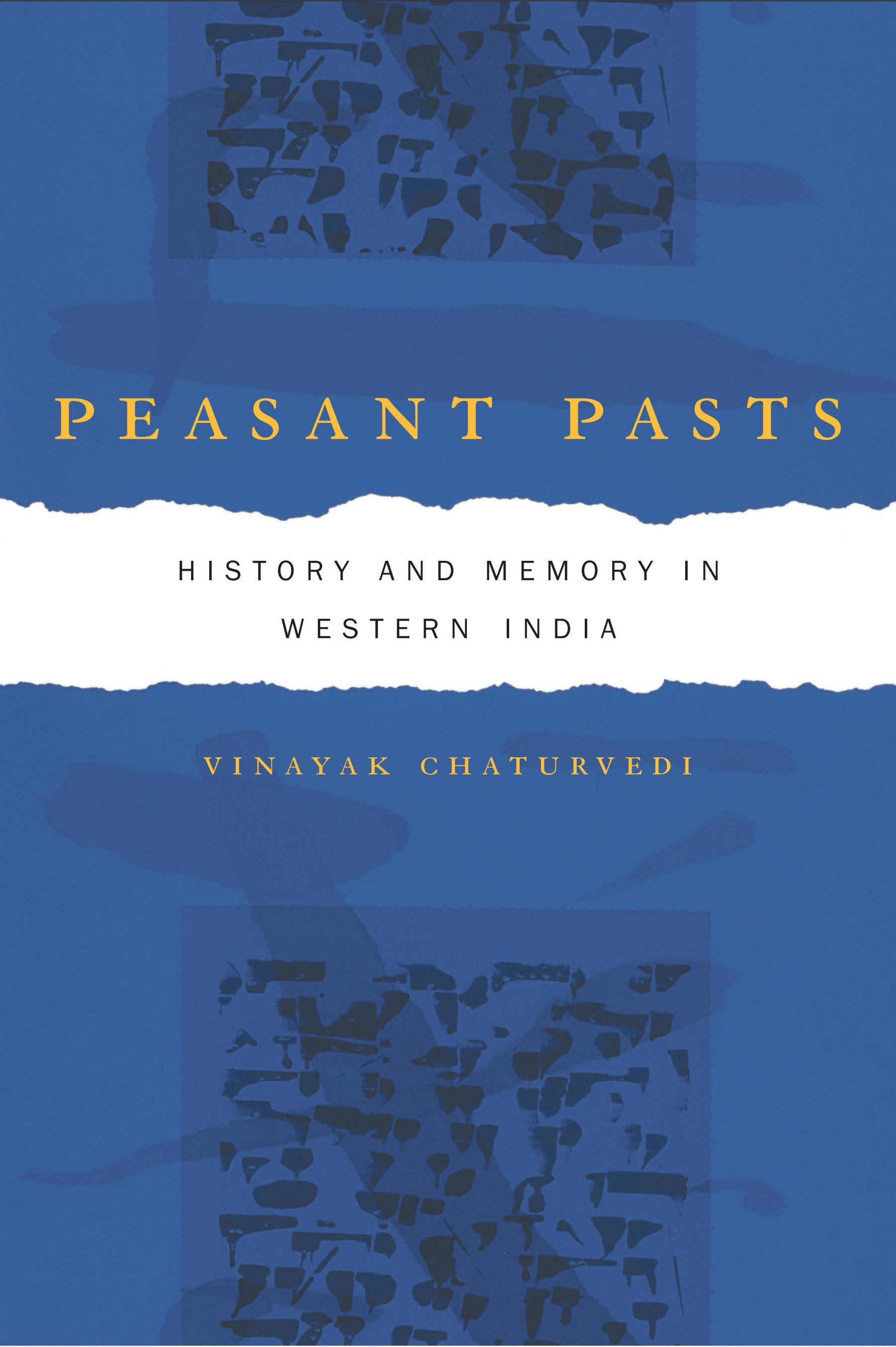 Peasant Pasts: History and Memory in Western India EB9780520940598