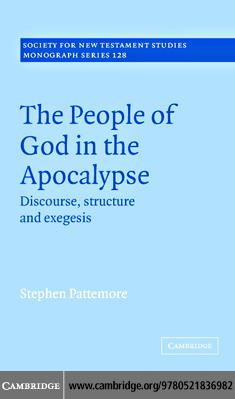 People of God in the Apocalypse EB9780511207723