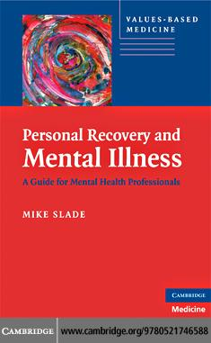 Personal Recovery and Mental Illness EB9780511537394
