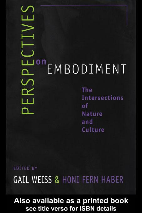 Perspectives on Embodiment EB9780203906187