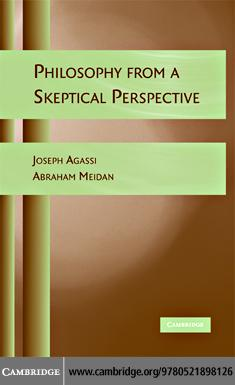 Philosophy from a Skeptical Perspective EB9780511406430