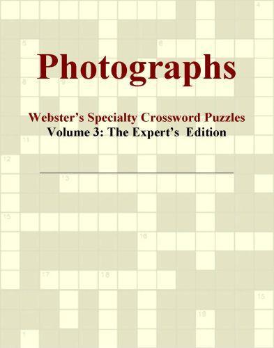 Photographs - Webster's Specialty Crossword Puzzles, Volume 3: The Expert's  Edition