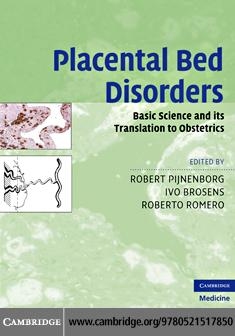Placental Bed Disorders EB9780511741029