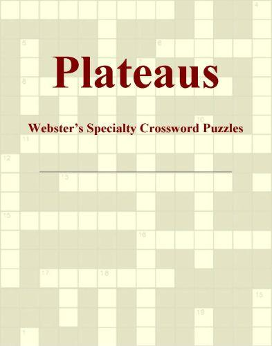 Plateaus - Webster's Specialty Crossword Puzzles EB9780546430202