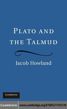 Plato and the Talmud EB9780511904387