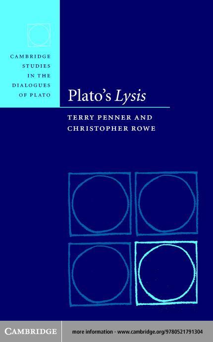 Plato's Lysis EB9780511128554