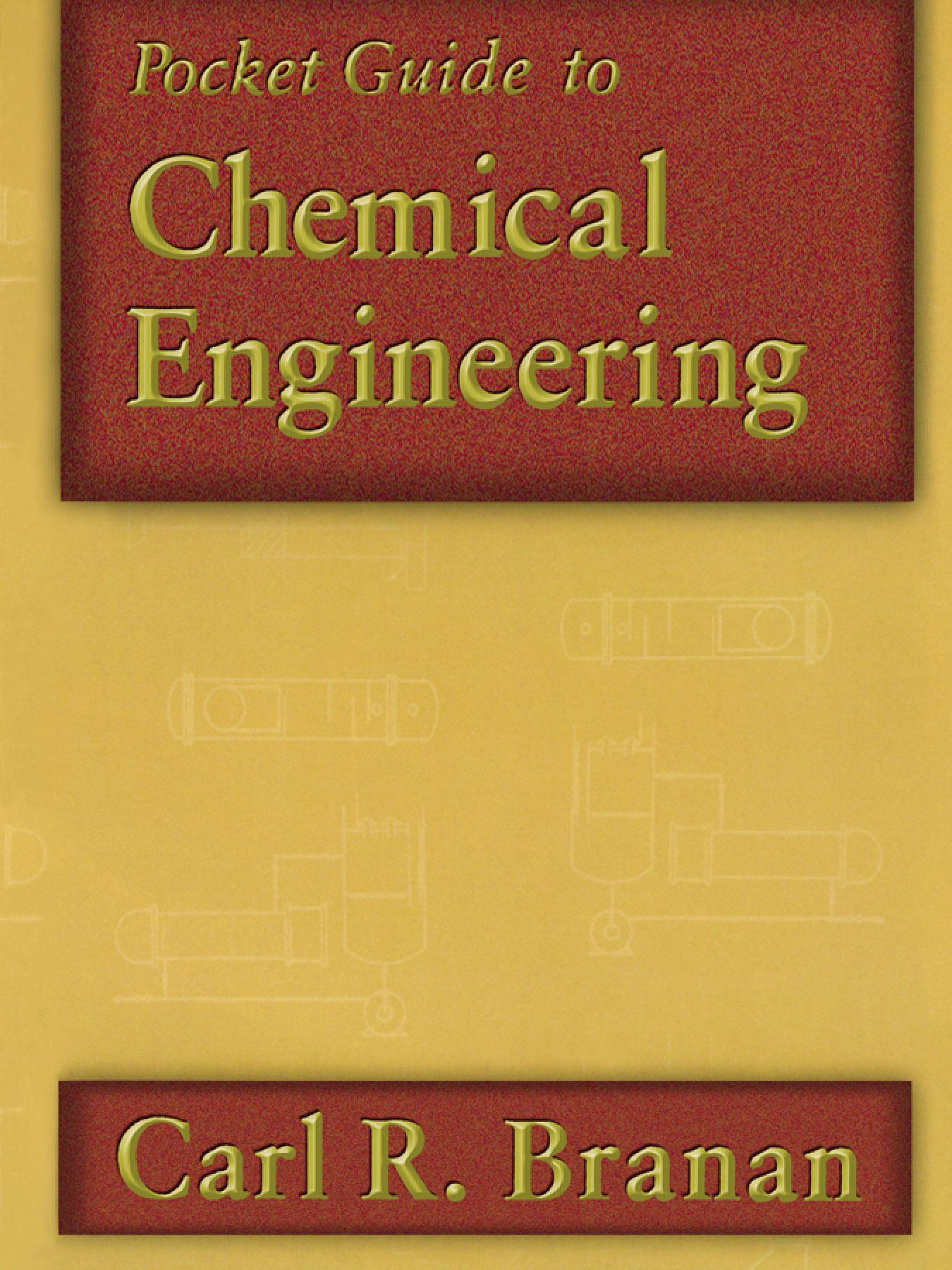 Pocket Guide to Chemical Engineering EB9780080514147