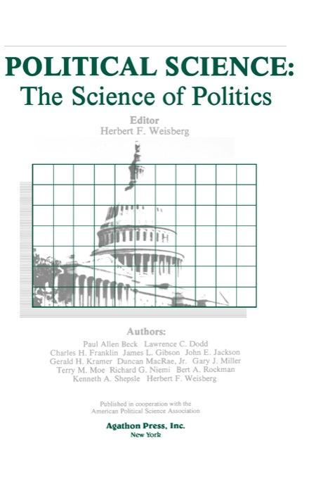 Political Science: The Science of Politics (ebook) EB9780875862743