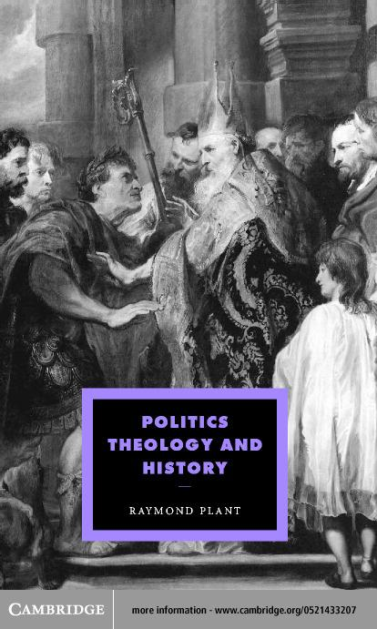 Politics, Theology and History EB9780511037382