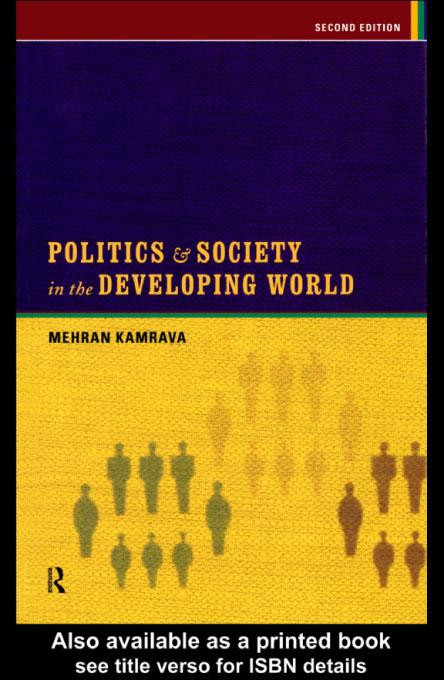 Politics and Society in the Developing World EB9780203013298