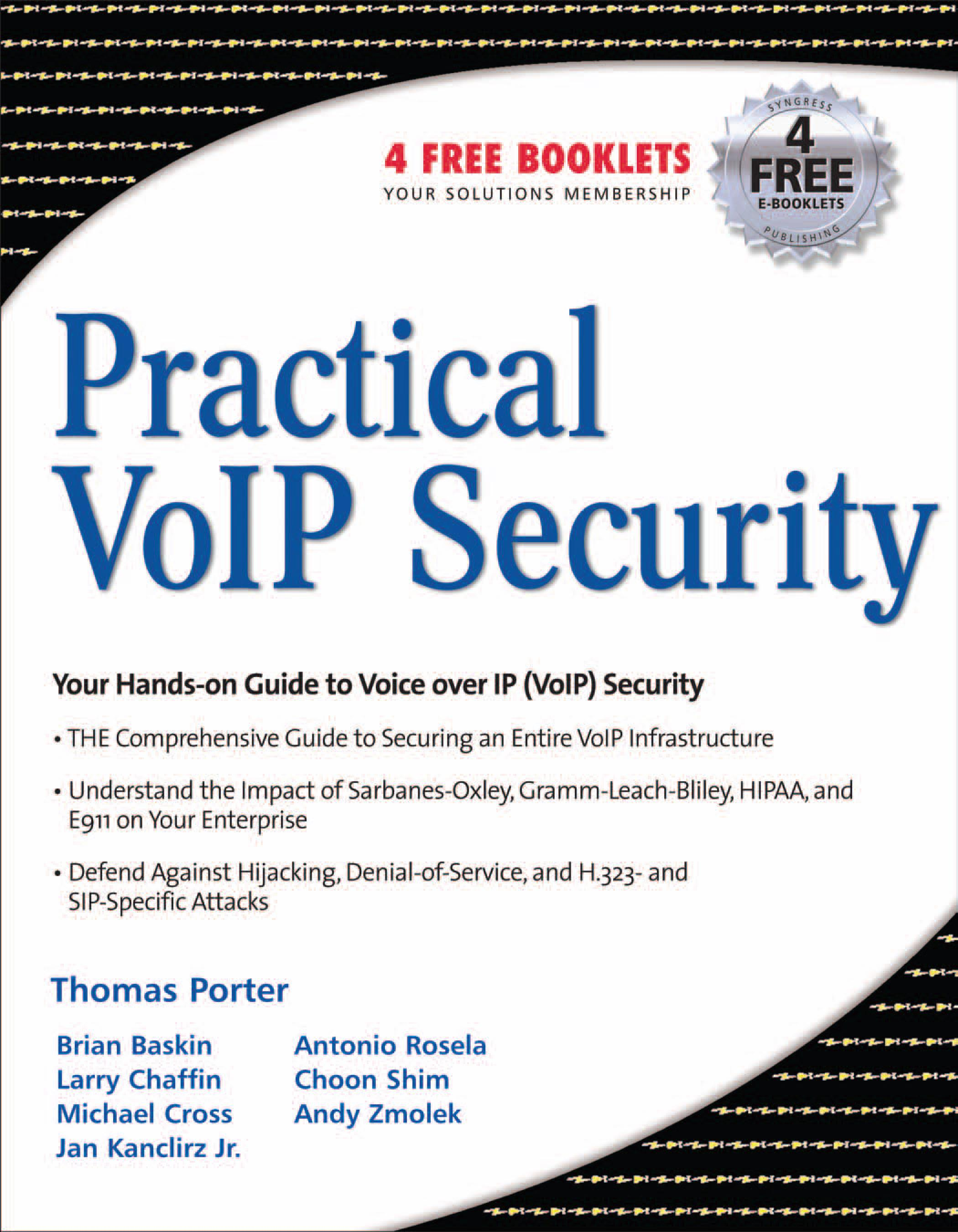 Practical VoIP Security EB9780080489551