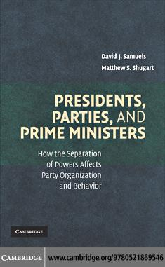 Presidents, Parties, and Prime Ministers EB9780511771101