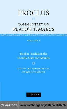 Proclus: Commentary on Plato's 'Timaeus' EB9780511271243