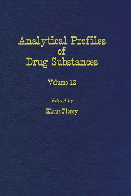 Profiles of Drug Substances, Excipients and Related Methodology vol 12 EB9780080861074