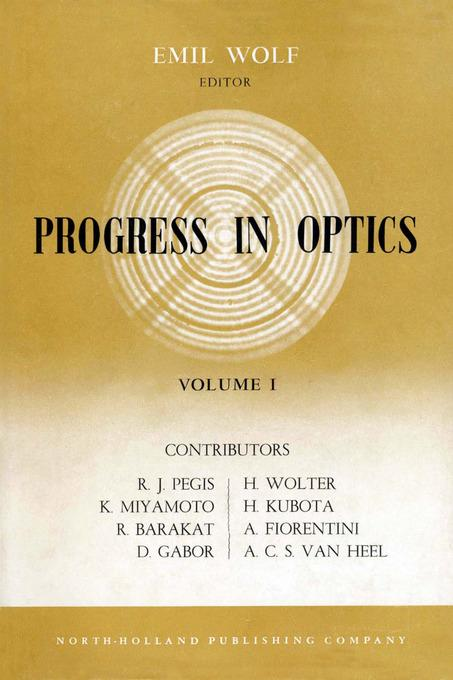 Progress in Optics Volume 1 EB9780080887647