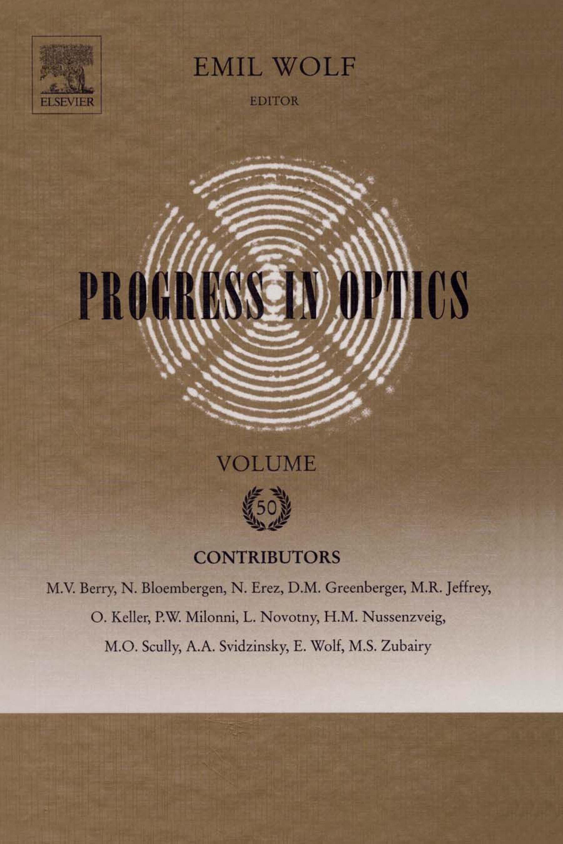 Progress in Optics EB9780080931944