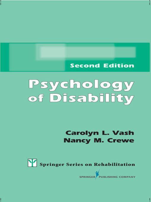 Psychology of Disability
