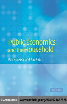 Public Economics and the Household EB9780511530401