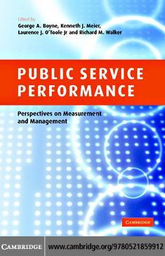 Public Service Performance EB9780511254840